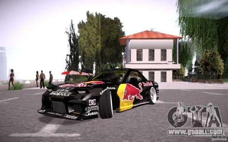 Mazda RX7 Madmikes Redbull for GTA San Andreas
