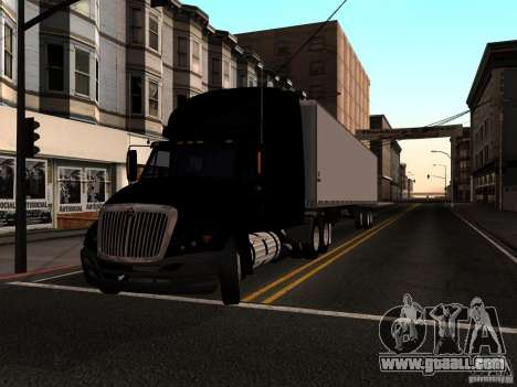 The Prostar Popupricep for GTA San Andreas back left view