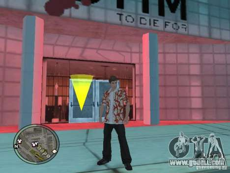 Tony Montana for GTA San Andreas forth screenshot