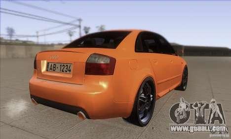 Audi S4 DIM for GTA San Andreas right view