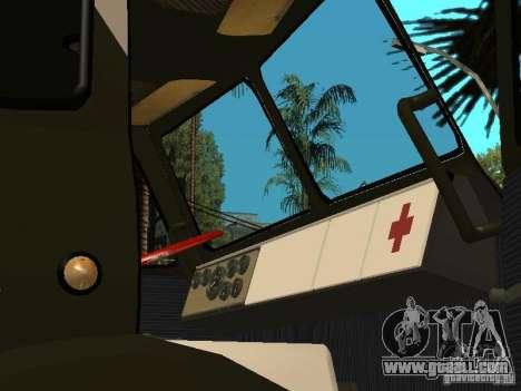 MAZ 515V for GTA San Andreas back view