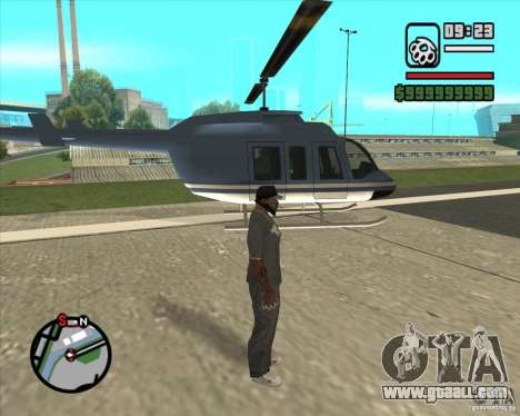 Job pilot for GTA San Andreas