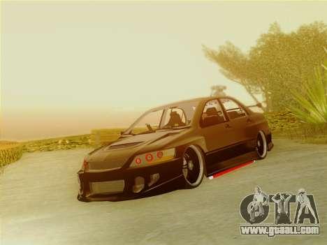 ENB v1.2 by TheFesya for GTA San Andreas third screenshot