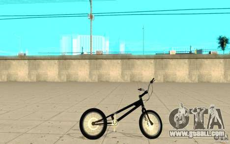 Trail Bike for GTA San Andreas left view