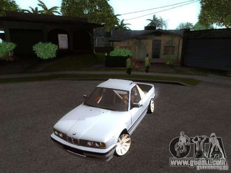 BMW E34 Pickup for GTA San Andreas left view
