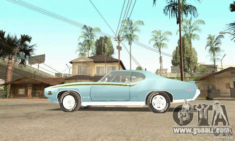 Pontiac GTO The Judge for GTA San Andreas right view