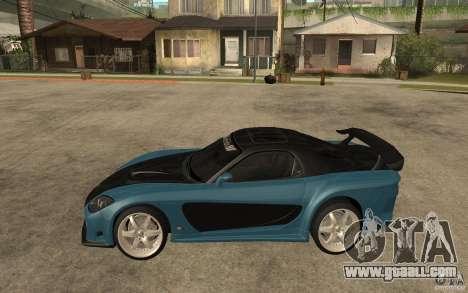 Mazda RX 7 VeilSide for GTA San Andreas inner view