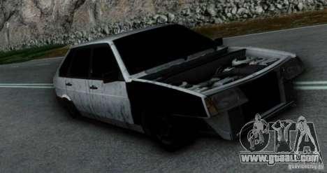 Vaz 2109 Hobo for GTA San Andreas