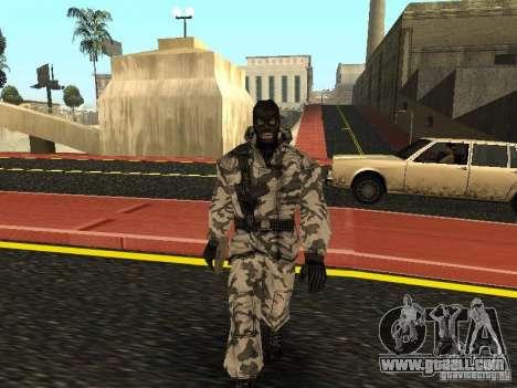 Arctic Avenger for GTA San Andreas
