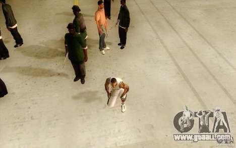 Sombras mais fortes em pedestres for GTA San Andreas second screenshot