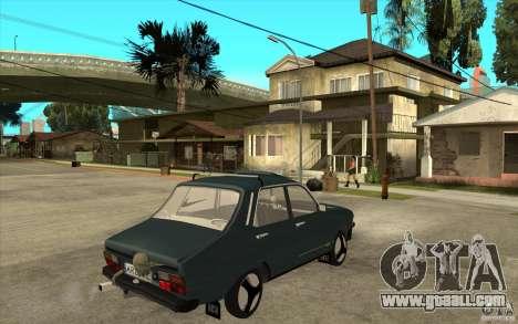 Dacia 1300 Cocalaro Tzaraneasca for GTA San Andreas right view