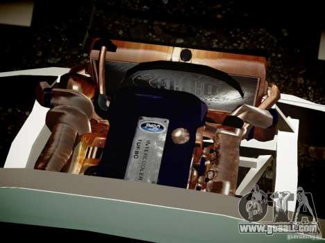 Ford F-650 Super Crewzer for GTA 4 inner view