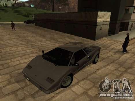 Lamborghini Countach 25th for GTA San Andreas left view