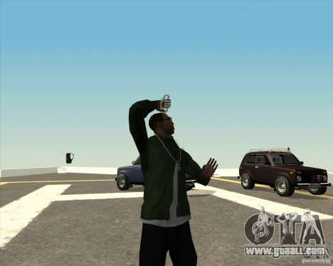 Different animation for GTA San Andreas eighth screenshot