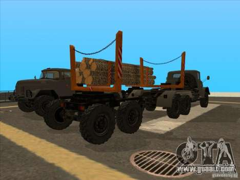 TMZ-802a for GTA San Andreas left view