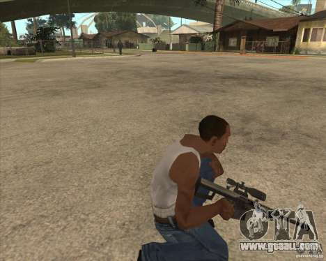 New sniper for GTA San Andreas third screenshot