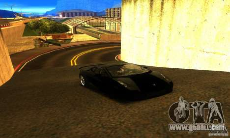 Lamborghini Gallardo for GTA San Andreas right view
