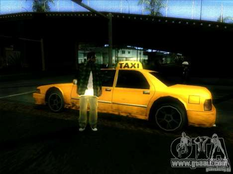 Sunrise Taxi for GTA San Andreas right view