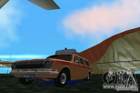 GAZ Volga 2402-Aeroflot for GTA Vice City