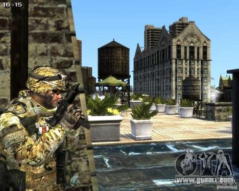 Micro Uzi for GTA 4 second screenshot