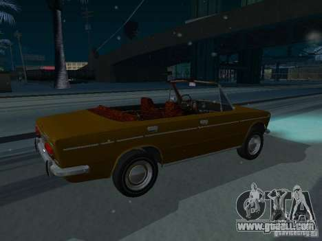 VAZ 2103 Convertible for GTA San Andreas back left view