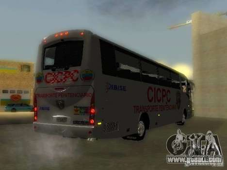 Irizar CICPC for GTA San Andreas left view