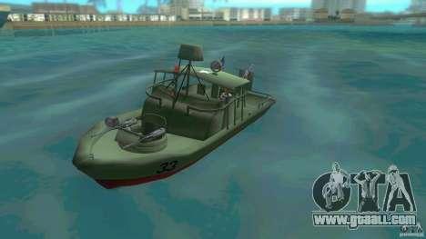 Patrol Boat River Mark 2 (Player_At_Wheel) for GTA Vice City