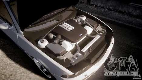 BMW M5 E39 Stock 2003 v3.0 for GTA 4 bottom view