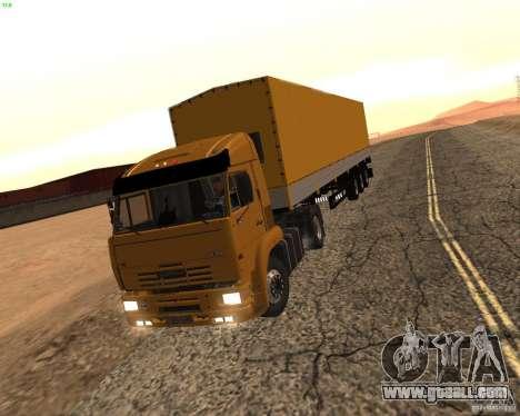 KamAZ 5460 Truckers 2 for GTA San Andreas