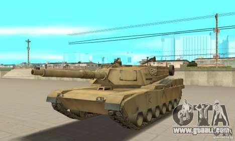 Tank M1A2 Abrams for GTA San Andreas