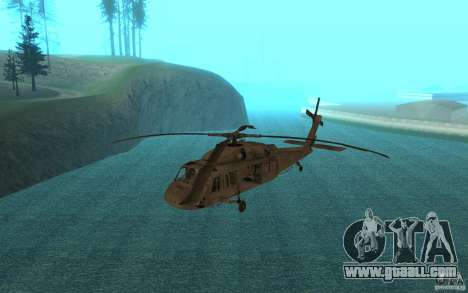 UH-60 Black Hawk for GTA San Andreas