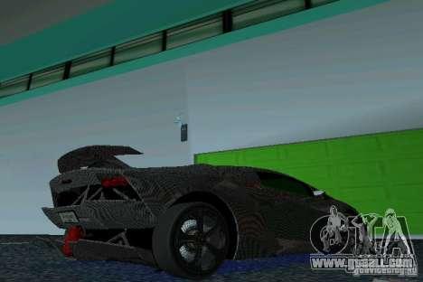 Lamborghini Sesto Elemento for GTA Vice City right view