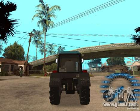 Tractor MTZ-80 for GTA San Andreas right view