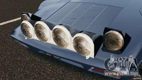 Lancia Stratos v1.1 for GTA 4 side view