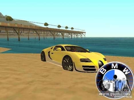 BMW Speedometer for GTA San Andreas forth screenshot