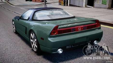 Honda NSX NA2 [Beta] for GTA 4 back left view