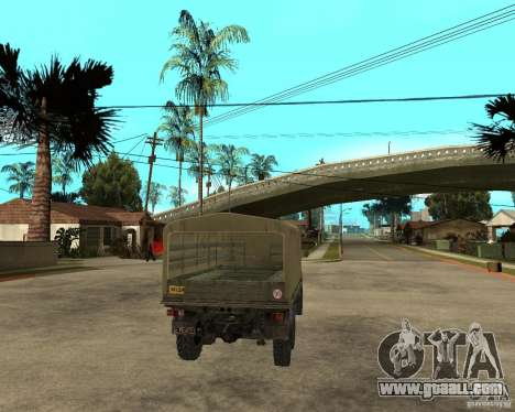 ZIL 131 for GTA San Andreas
