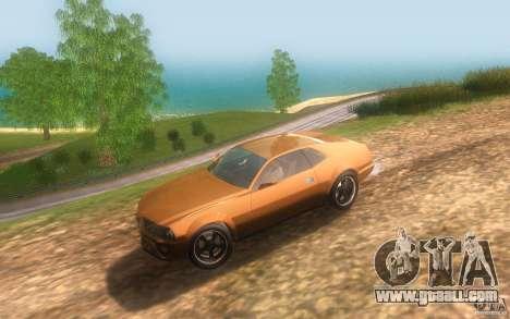 AMC Javelin 2010 for GTA San Andreas inner view