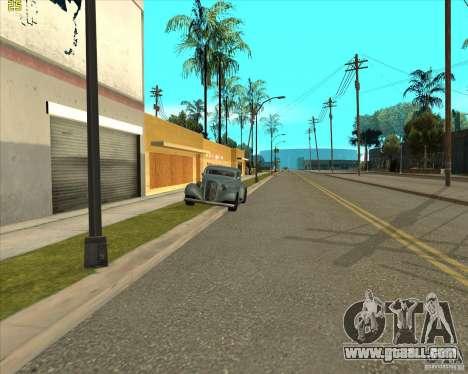 Car in Grove Street for GTA San Andreas eighth screenshot