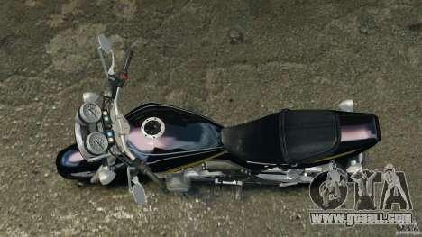 Kawasaki Zephyr for GTA 4 right view