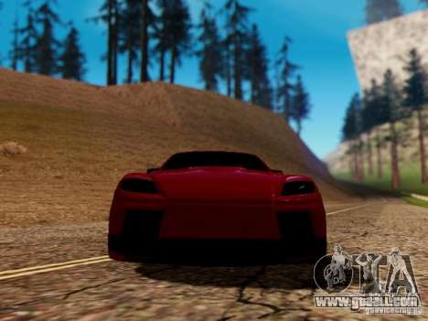 Mazda RX8 Reventon for GTA San Andreas side view