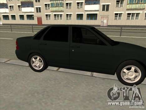 LADA 2170 Priora for GTA San Andreas left view