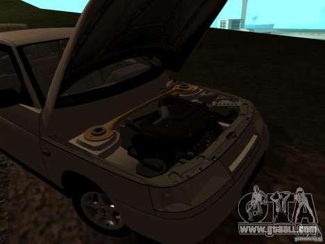 VAZ-21103 for GTA San Andreas inner view