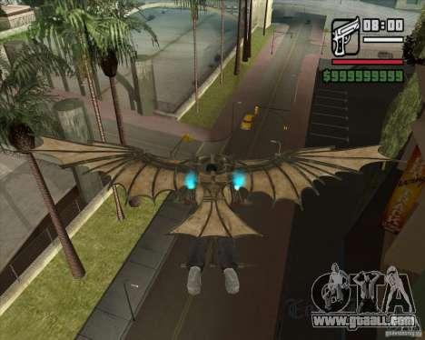 Flying machine by Leonardo da Vinci for GTA San Andreas third screenshot