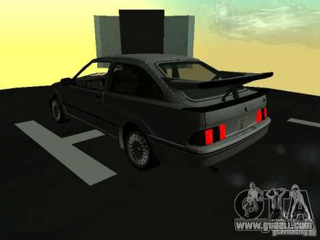 Ford Sierra RS500 Cosworth 1987 for GTA San Andreas left view