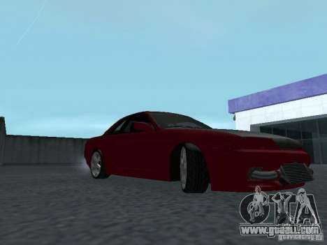 Nissan Skyline R32 Classic Drift for GTA San Andreas back view