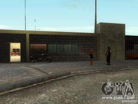 The realistic school bikers v1.0 for GTA San Andreas second screenshot