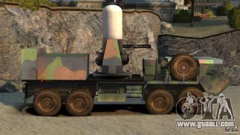 HEMTT Phalanx for GTA 4 left view