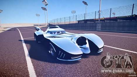 Batmobile v1.0 for GTA 4 inner view