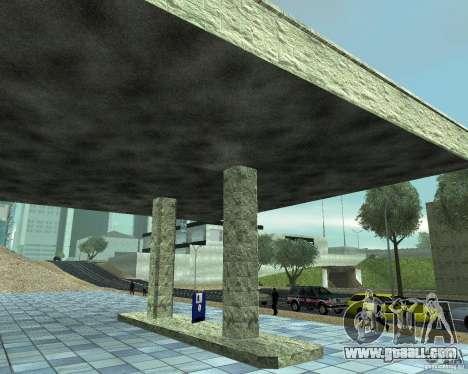 HD Garage in Doherty for GTA San Andreas third screenshot